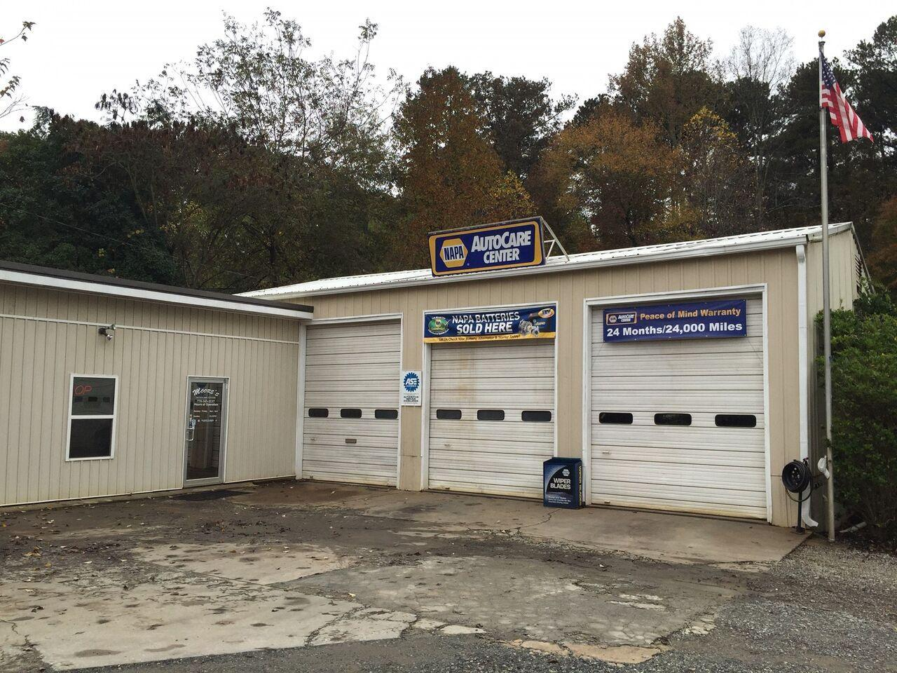 Napa Auto Care Center at Moore's Car Shop
