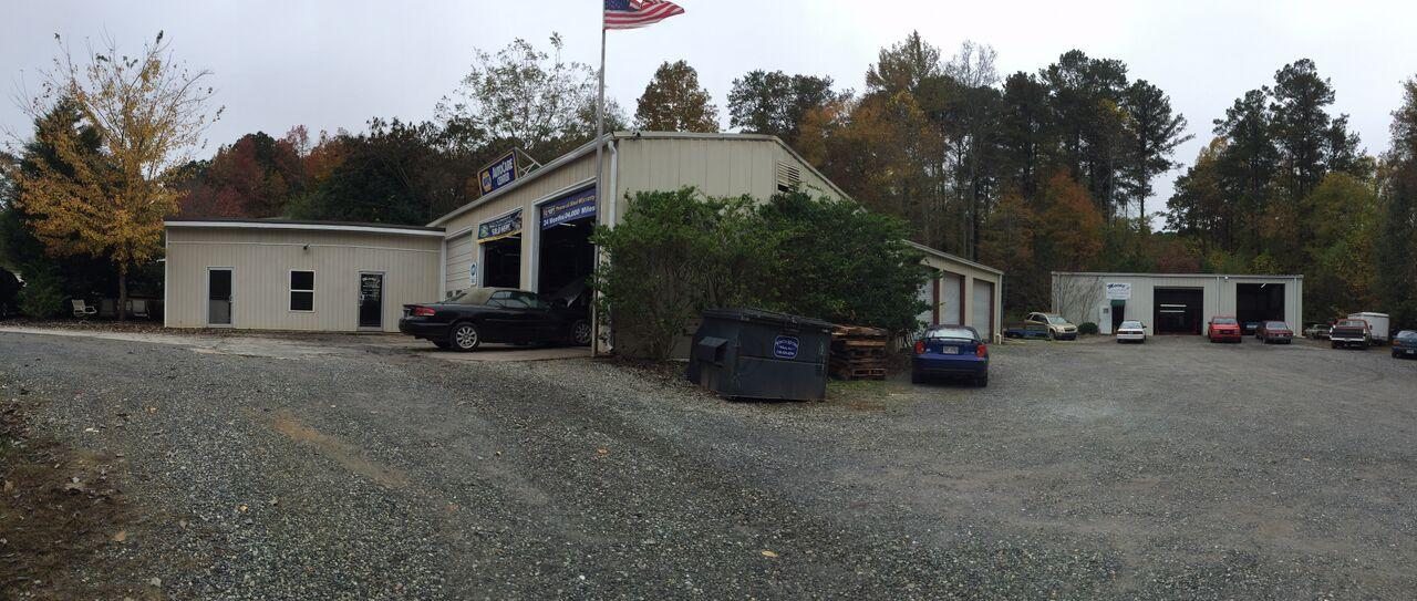 Triangle View - Auto Repair Shop Exterior
