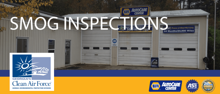 Smog Inspections and Emissions Testing