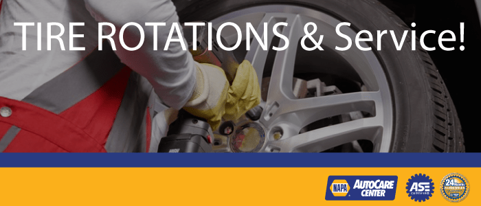 Tire Repairs and Tire Rotations